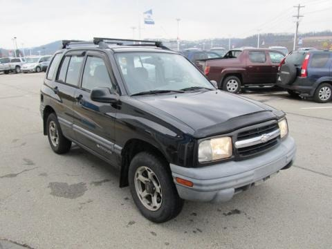 2000 Chevrolet Tracker 4WD Hard Top Data Info and Specs