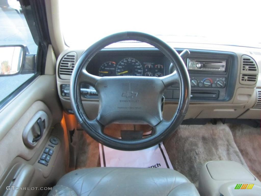 1995 Chevrolet Tahoe Lt Tan Dashboard Photo 40071767
