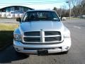 2002 Bright Silver Metallic Dodge Ram 1500 SLT Quad Cab 4x4  photo #2