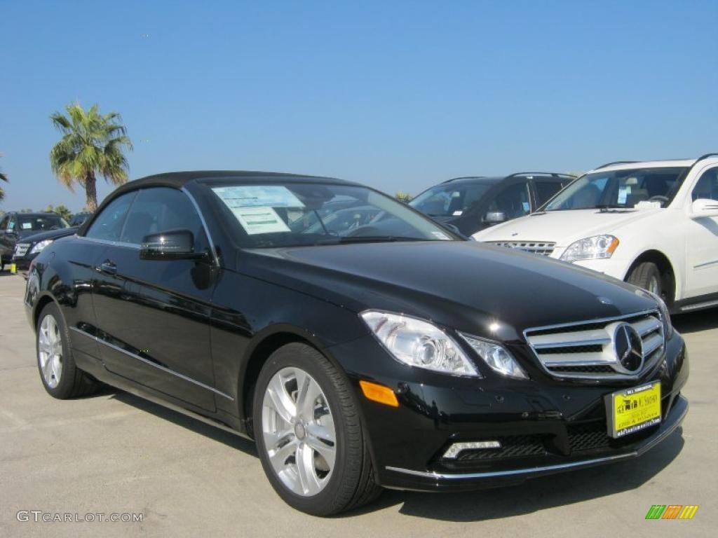 Black 2011 mercedes benz e 350 cabriolet exterior photo for Mercedes benz e350 black