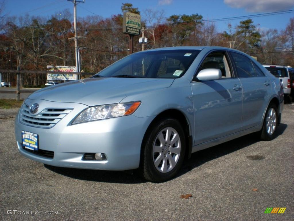sky blue pearl 2007 toyota camry xle v6 exterior photo 40084491. Black Bedroom Furniture Sets. Home Design Ideas