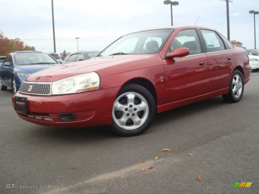 Medium red 2003 saturn l series l300 sedan exterior photo 40086071