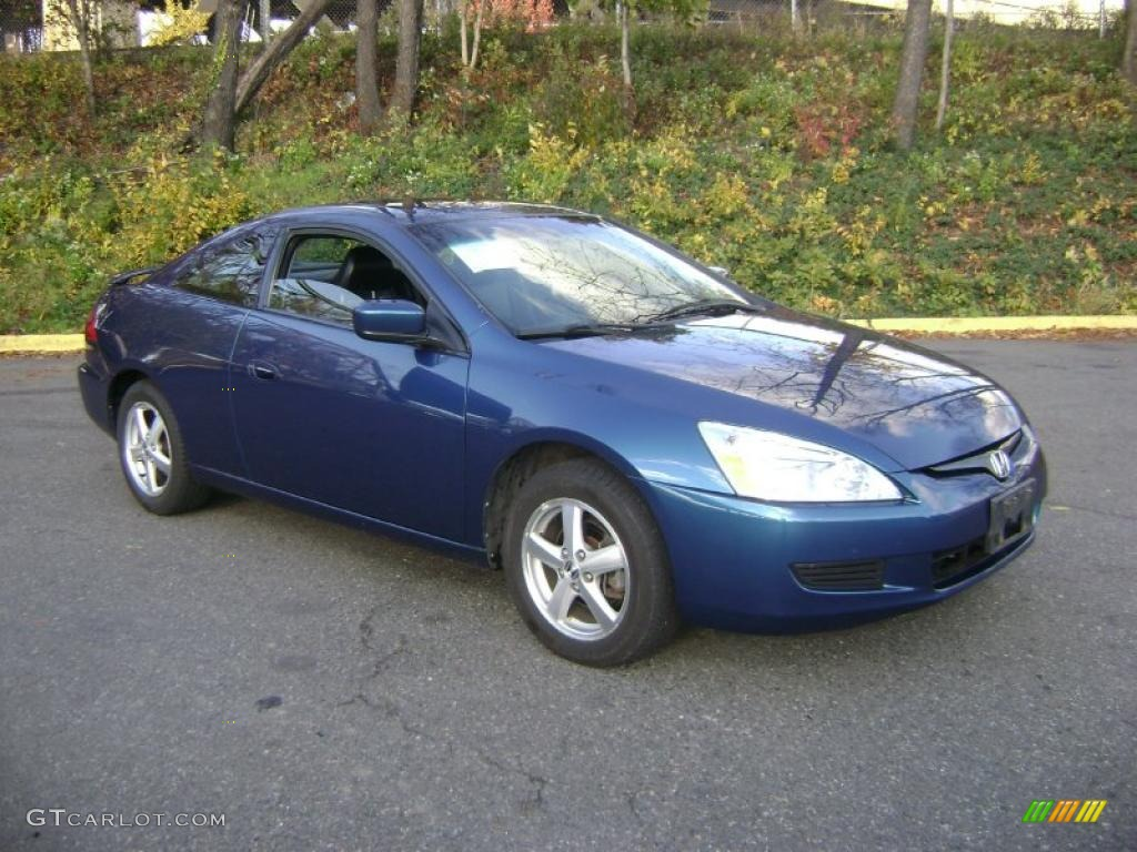 sapphire blue pearl 2004 honda accord ex coupe exterior. Black Bedroom Furniture Sets. Home Design Ideas