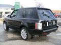 2007 Java Black Pearl Land Rover Range Rover Supercharged  photo #3