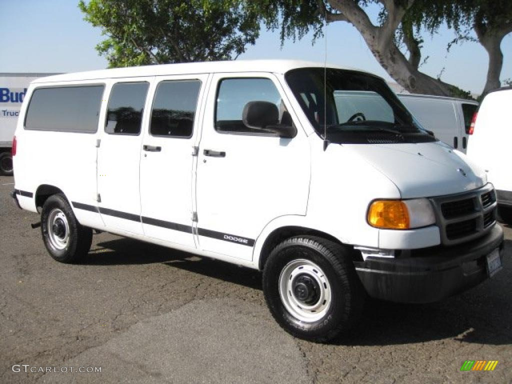 2000 bright white dodge ram van 2500 cargo 40063713 car color galleries. Black Bedroom Furniture Sets. Home Design Ideas