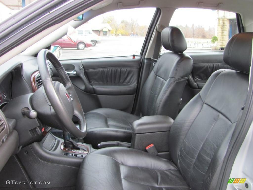 Black interior 2001 saturn l series l300 sedan photo 40117855