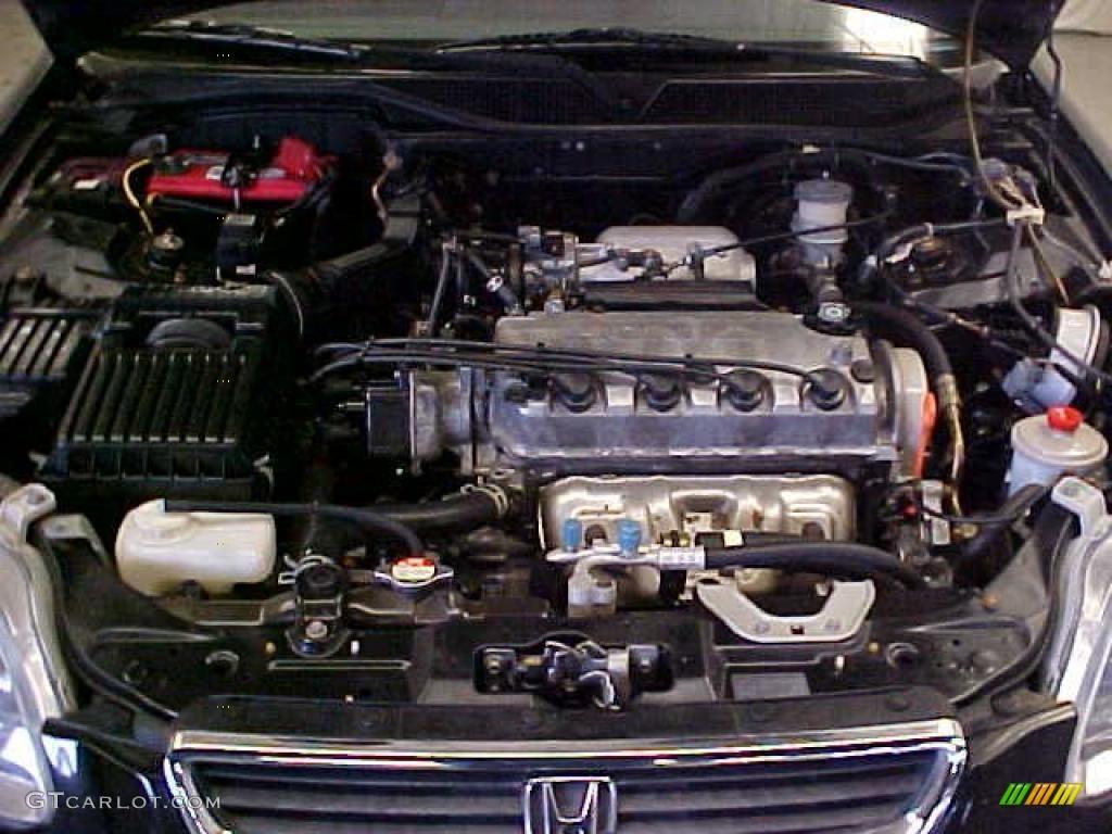 1997 honda civic ex sedan 1 6 liter sohc 16 valve 4 cylinder engine photo 40123579. Black Bedroom Furniture Sets. Home Design Ideas