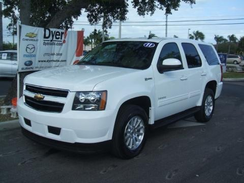 2011 Chevrolet Tahoe Hybrid Collection Pics