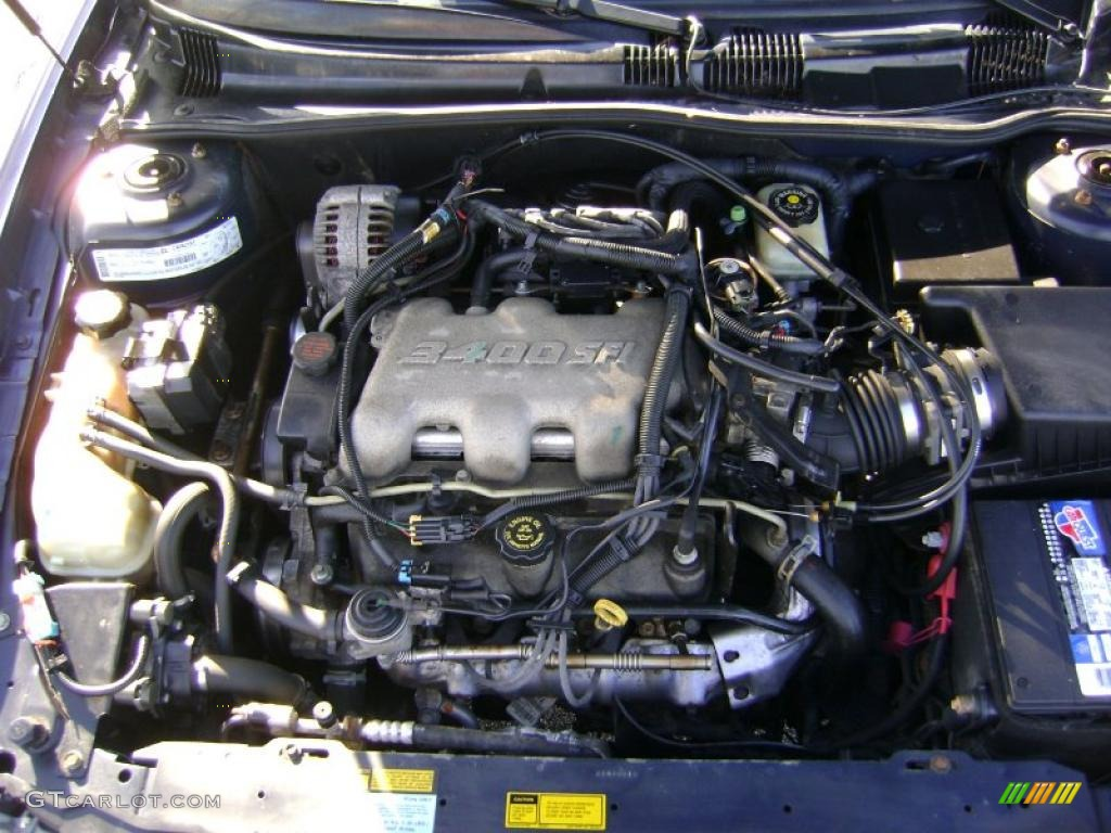 2000 Oldsmobile Alero GLS Coupe Engine Photos