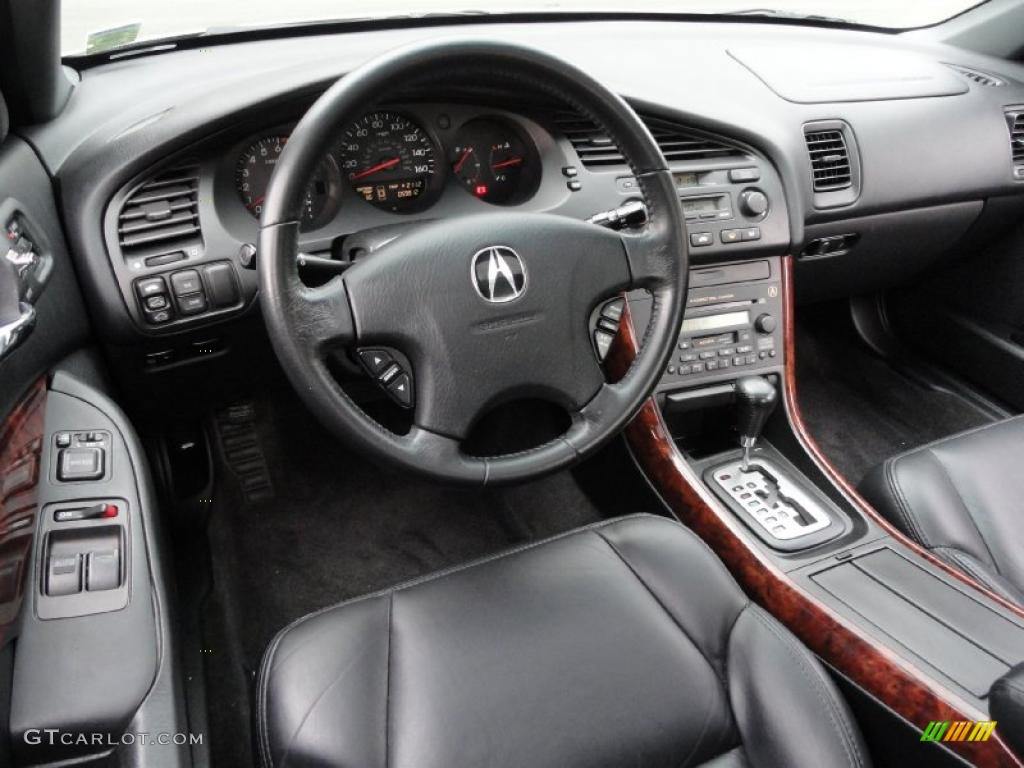 Ebony Interior 2003 Acura CL 3.2 Photo #40136417 | GTCarLot.com