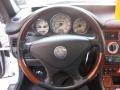 Charcoal Black Steering Wheel Photo for 2001 Mercedes-Benz SLK #40138729