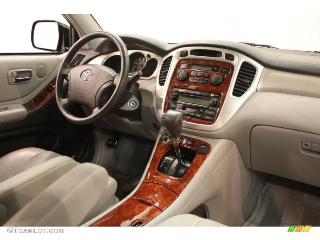 2004 Black Toyota Highlander Limited V6 40134363 Photo 15 Car Color Galleries
