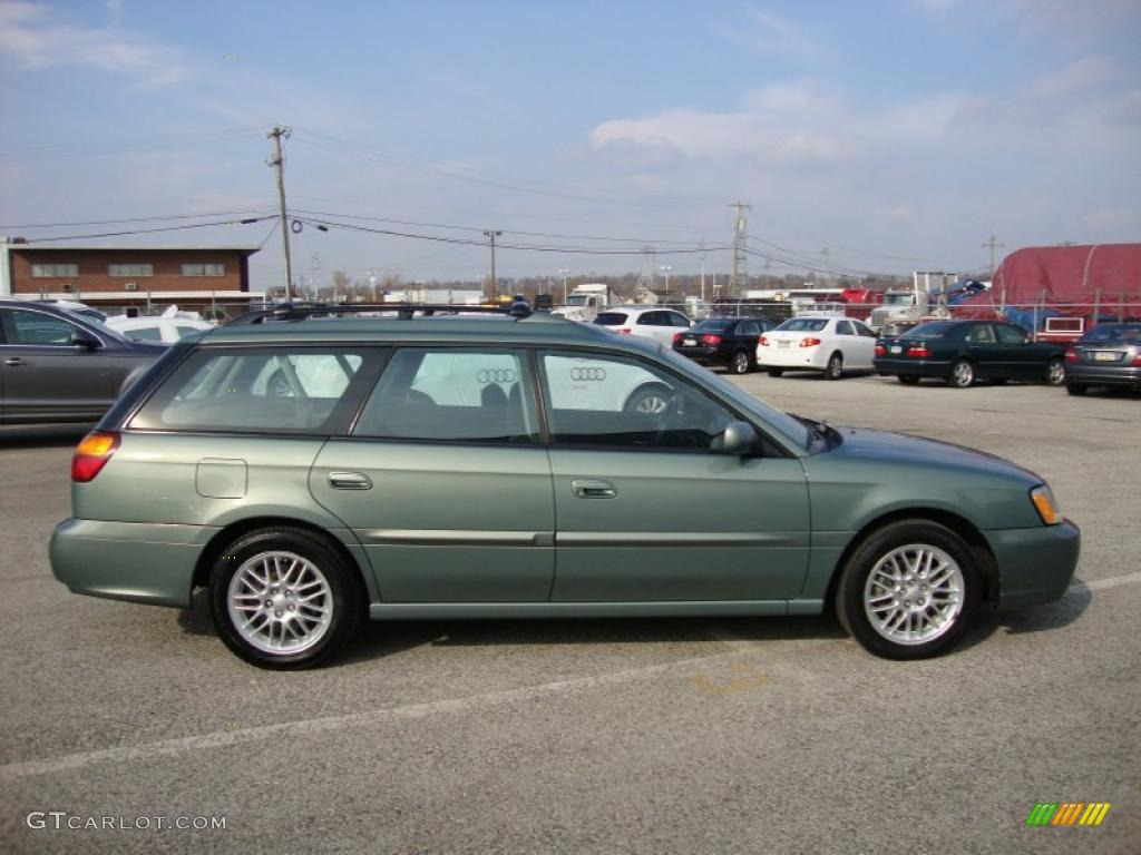 Seamist green pearl 2004 subaru legacy l wagon exterior photo 40153277