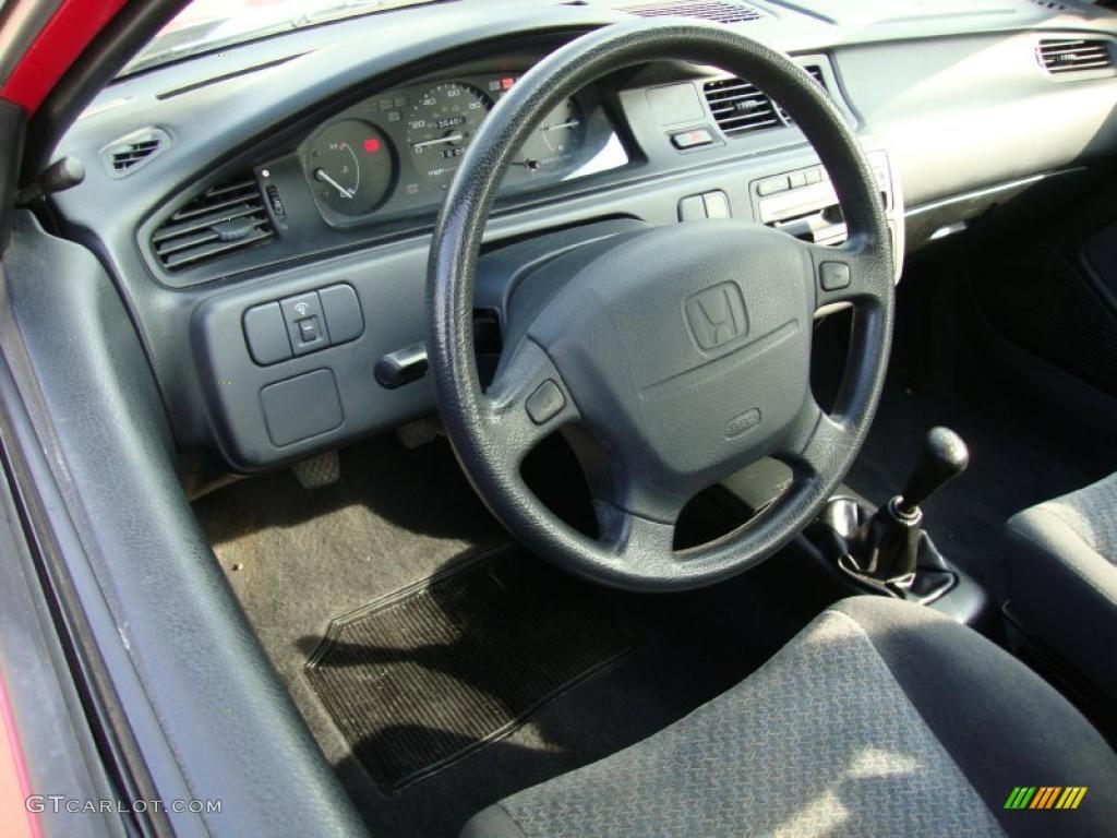 Dark grey interior 1994 honda civic cx hatchback photo - 1996 honda civic hatchback interior ...