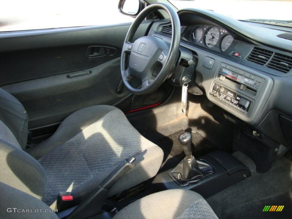 Dark grey interior 1994 honda civic cx hatchback photo for Dark grey interior