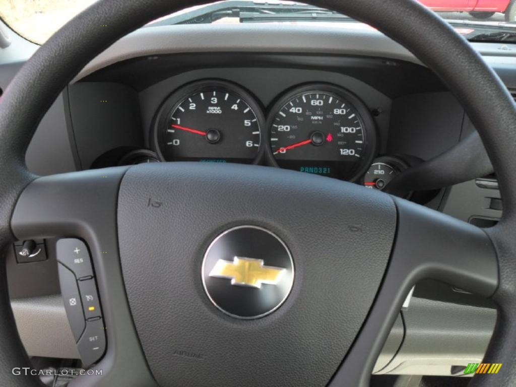 2011 Chevrolet Silverado 1500 Regular Cab 4x4 Gauges Photo #40155521