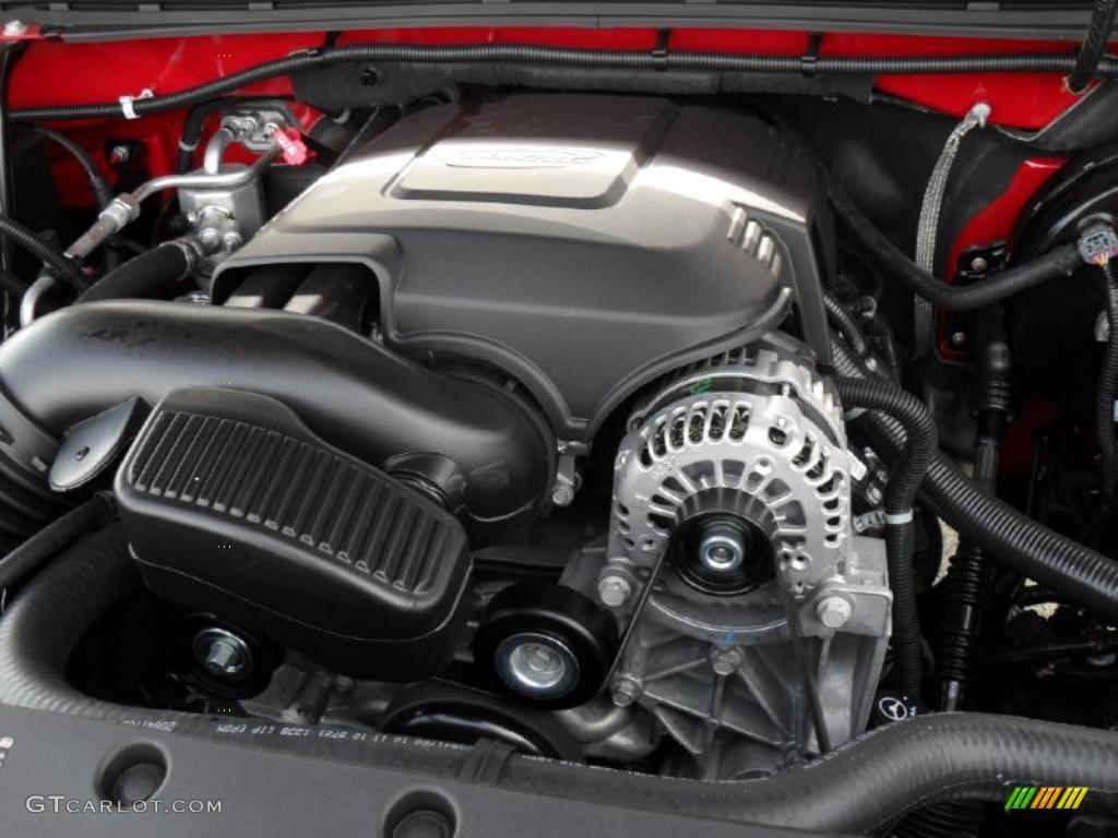 2011 Chevrolet Silverado 1500 Regular Cab 4x4 4.8 Liter Flex-Fuel OHV 16-Valve Vortec V8 Engine Photo #40155682