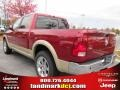 2011 Deep Cherry Red Crystal Pearl Dodge Ram 1500 Laramie Crew Cab  photo #2