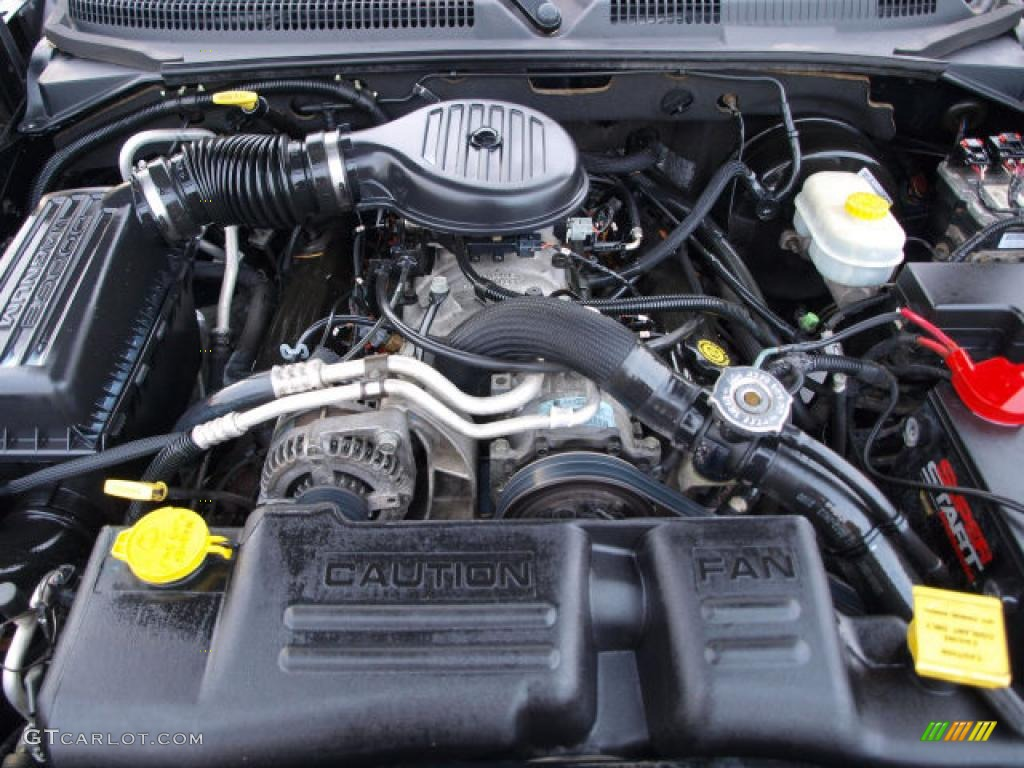 2003 dodge durango r t 4x4 engine photos