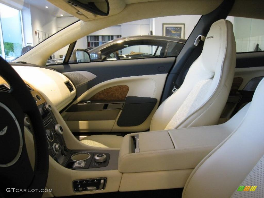 Blue Haze Cream Truffle Interior 2011 Aston Martin Rapide