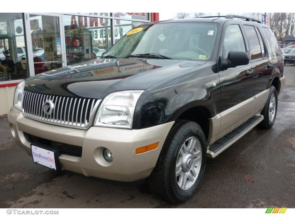 Black Clearcoat 2004 Mercury Mountaineer Convenience AWD ...