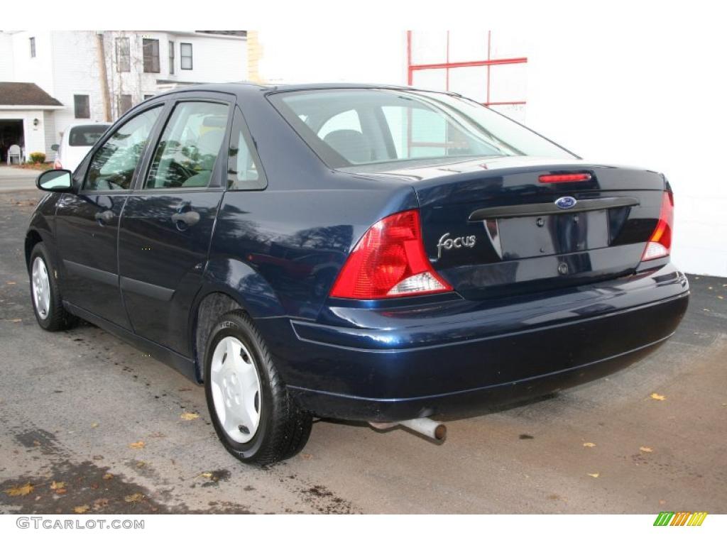 twilight blue metallic 2002 ford focus lx sedan exterior. Black Bedroom Furniture Sets. Home Design Ideas
