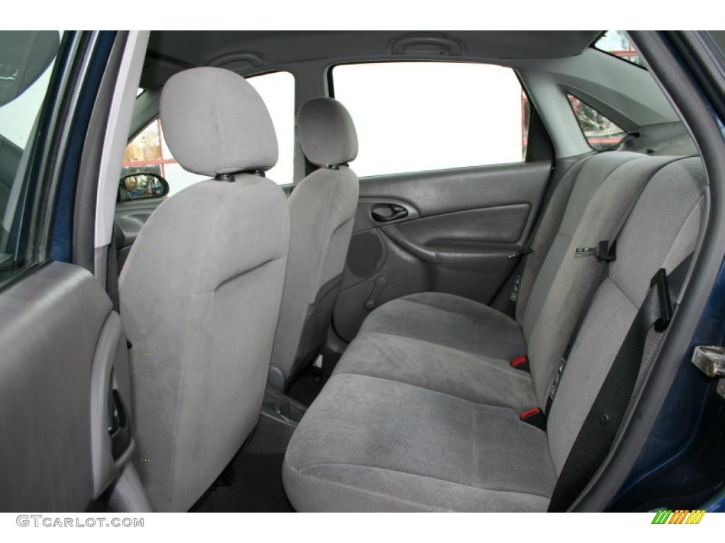 medium graphite interior 2002 ford focus lx sedan photo. Black Bedroom Furniture Sets. Home Design Ideas