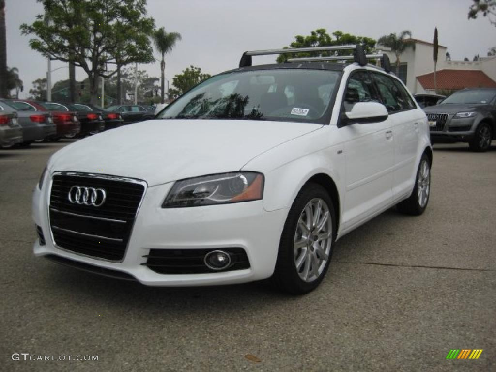 2011 ibis white audi a3 2 0 tdi 40133637 car color galleries. Black Bedroom Furniture Sets. Home Design Ideas