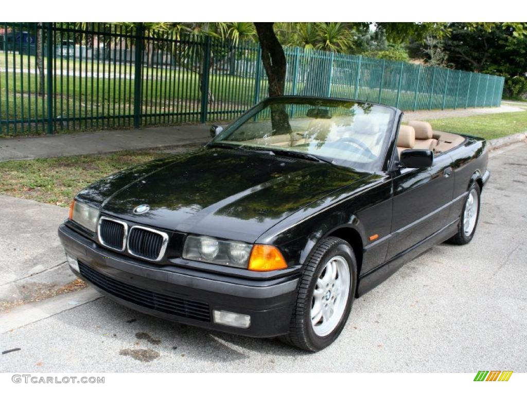 jet black 1999 bmw 3 series 323i convertible exterior. Black Bedroom Furniture Sets. Home Design Ideas
