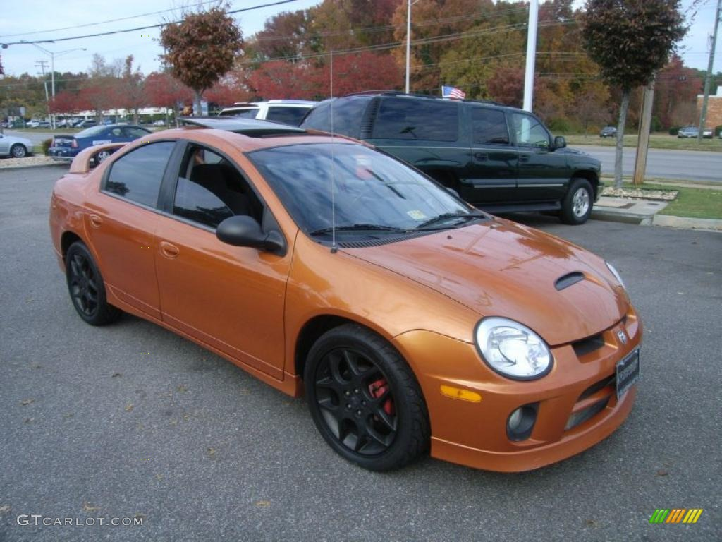 orange blast pearlcoat 2005 dodge neon srt 4 exterior. Black Bedroom Furniture Sets. Home Design Ideas