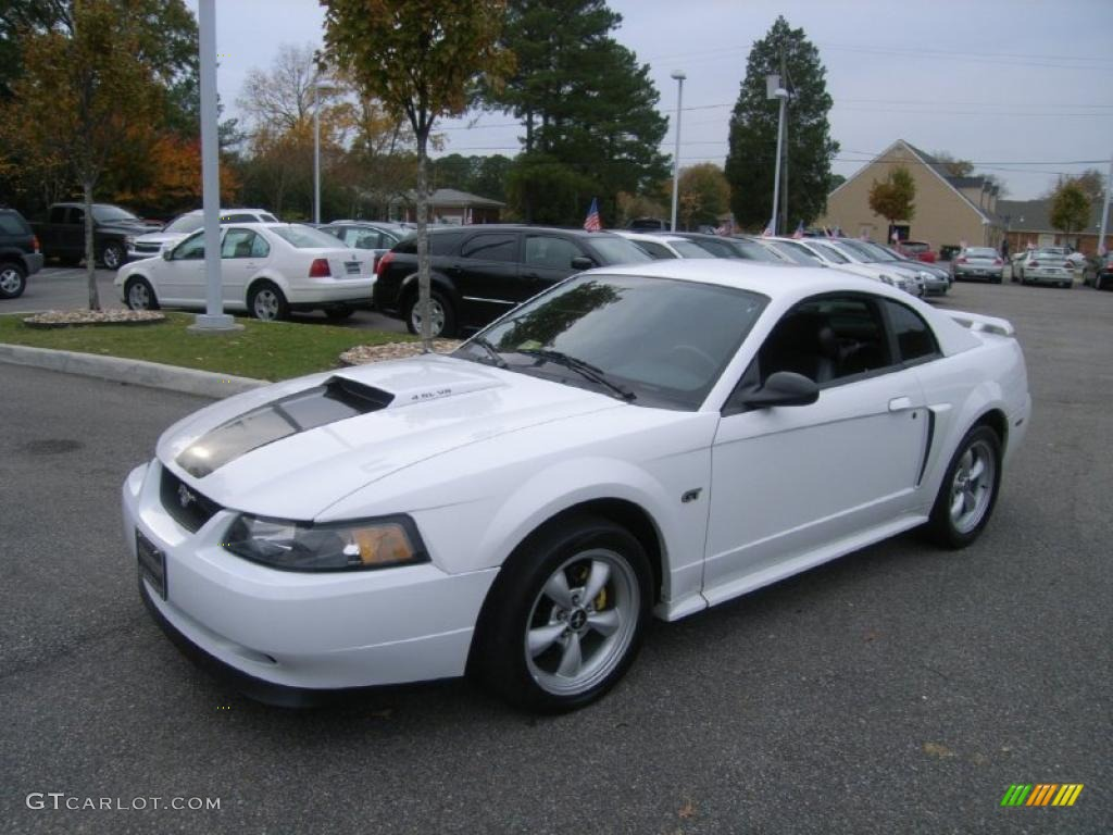 Oxford white ford mustang ford mustang gt coupe