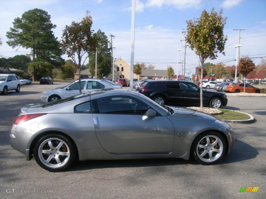 Chrome Silver 2003 Nissan 350z Track Coupe Exterior Photo 40204060 Gtcarlot Com
