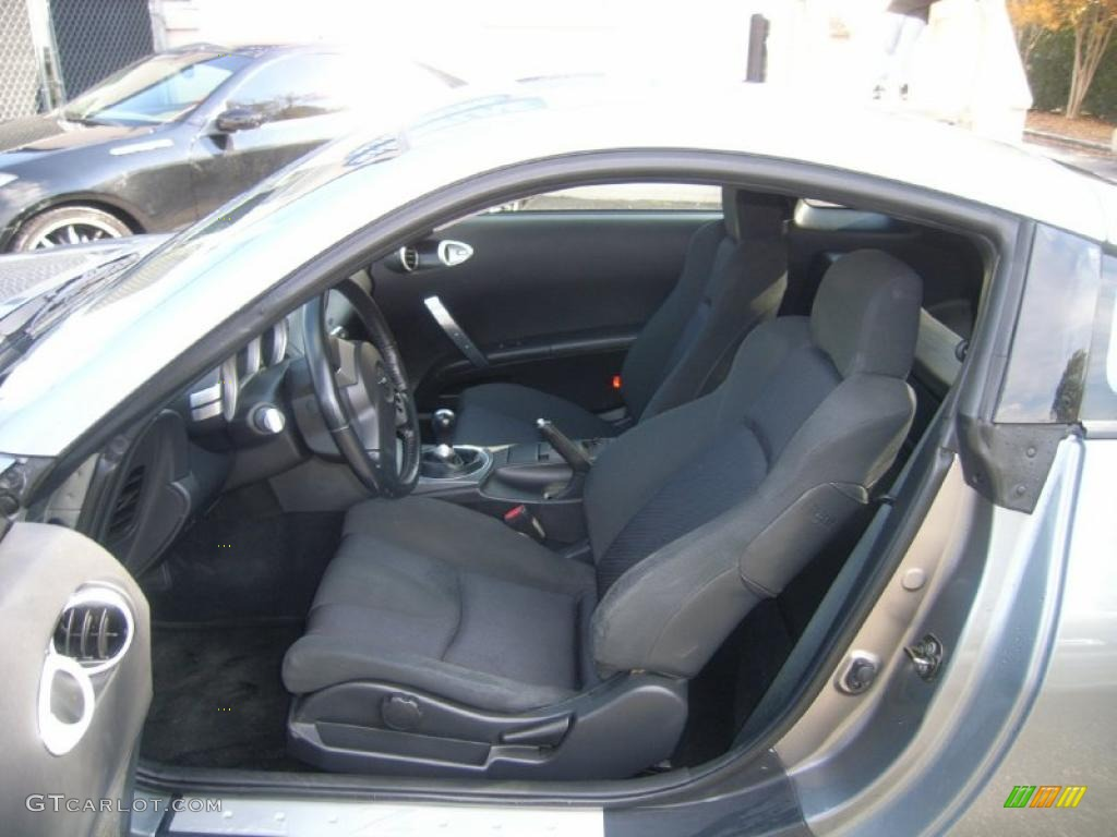 2003 nissan 350z interior. carbon black interior 2003 nissan 350z track coupe photo 40204188 350z