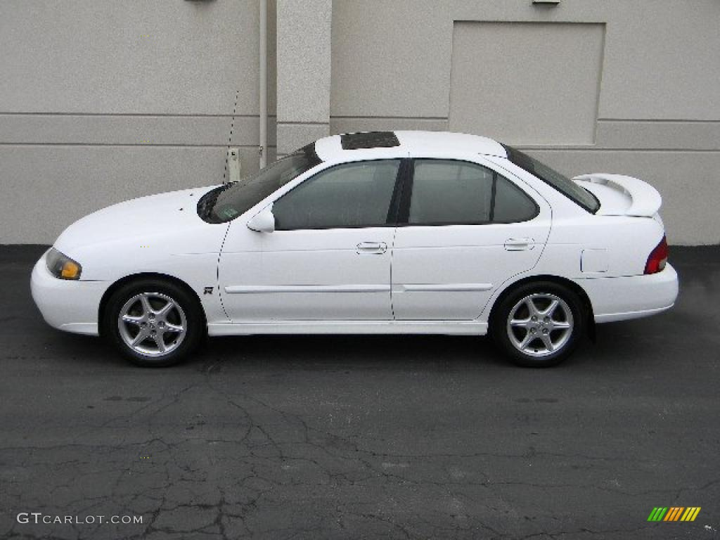 cloud white 2002 nissan sentra se r exterior photo 40205800. Black Bedroom Furniture Sets. Home Design Ideas