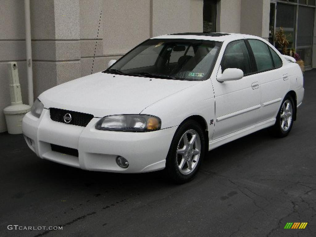 cloud white 2002 nissan sentra se r exterior photo 40205812. Black Bedroom Furniture Sets. Home Design Ideas