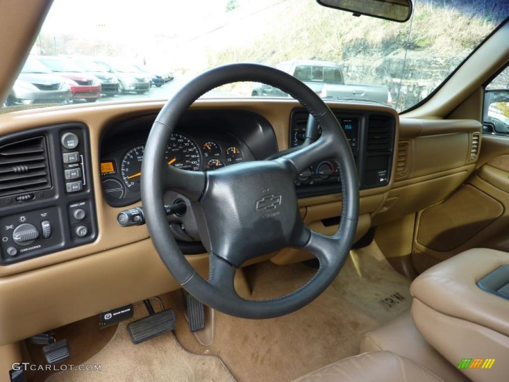Medium Oak Interior 1999 Chevrolet Silverado 1500 Ls Regular Cab 4x4 Photo 40210205
