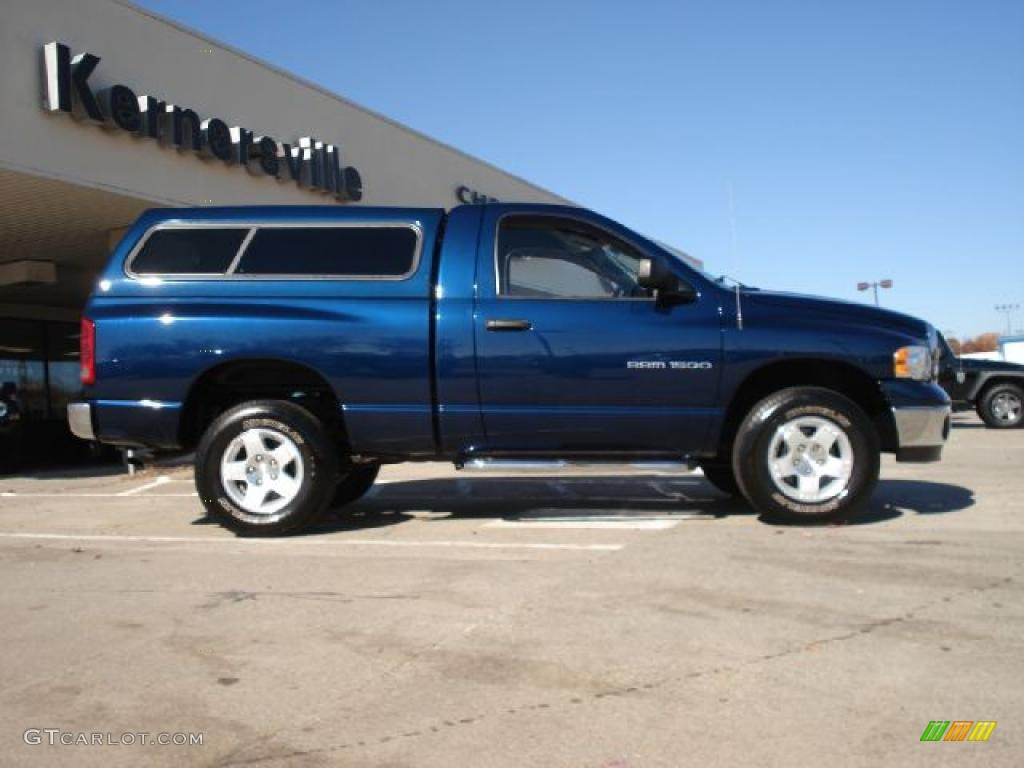patriot blue pearl 2004 dodge ram 1500 slt regular cab 4x4 exterior photo 40213341. Black Bedroom Furniture Sets. Home Design Ideas