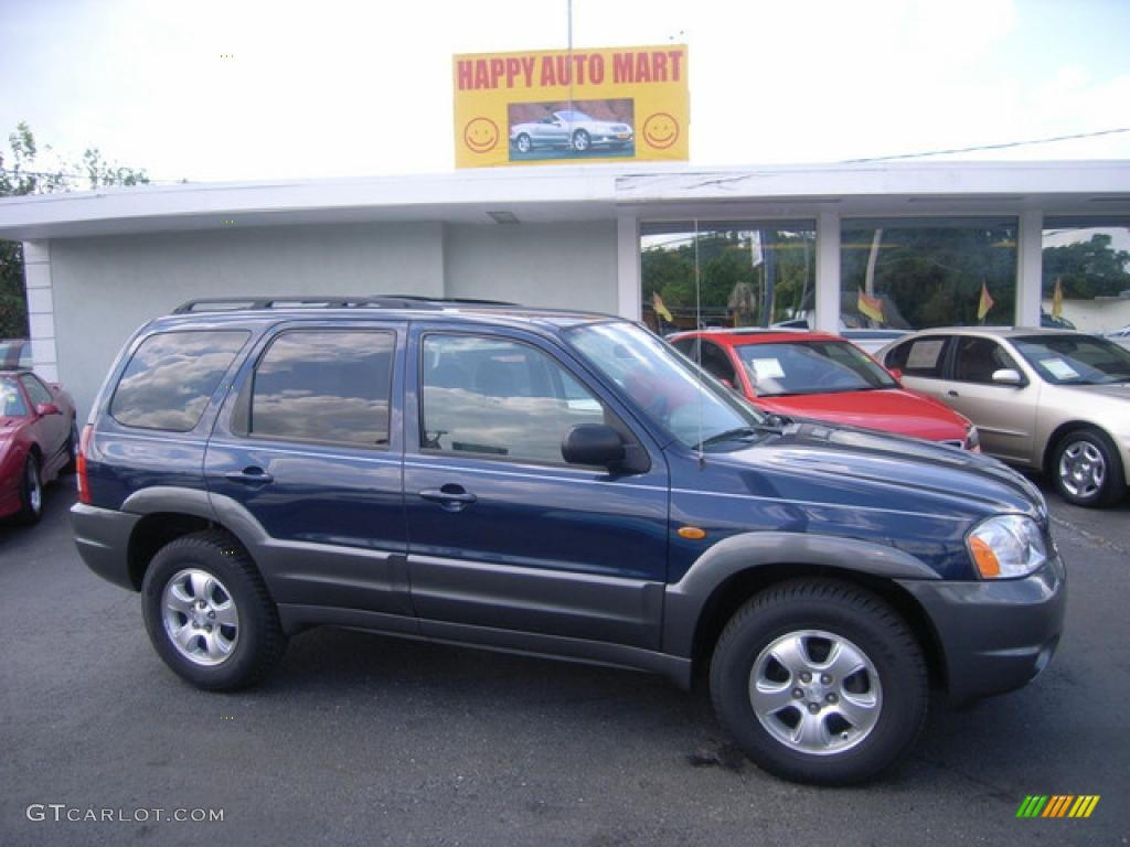 2004 calypso blue metallic mazda tribute lx v6 4015410. Black Bedroom Furniture Sets. Home Design Ideas