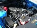2011 Grabber Blue Ford Mustang V6 Premium Coupe  photo #11