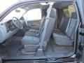 2011 Black Chevrolet Silverado 1500 LS Extended Cab  photo #11