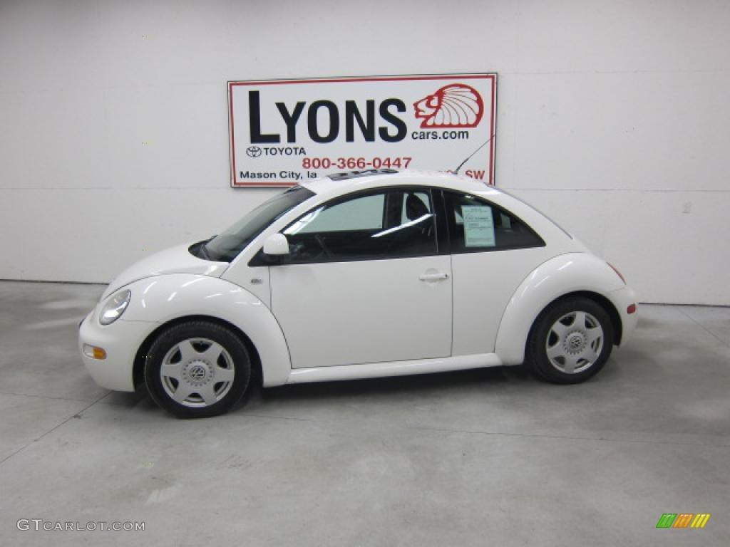 2000 white volkswagen new beetle gls tdi coupe 40218290. Black Bedroom Furniture Sets. Home Design Ideas
