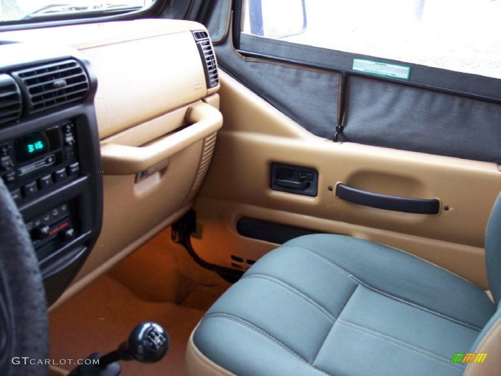 2014 Jeep Wrangler Warranty >> Green/Khaki Interior 1998 Jeep Wrangler Sahara 4x4 Photo ...