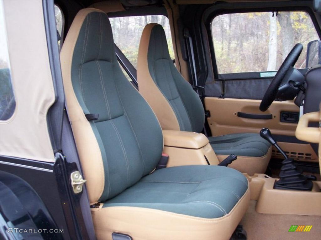 1998 Jeep Wrangler Sahara 4x4 Interior Photo 40229446