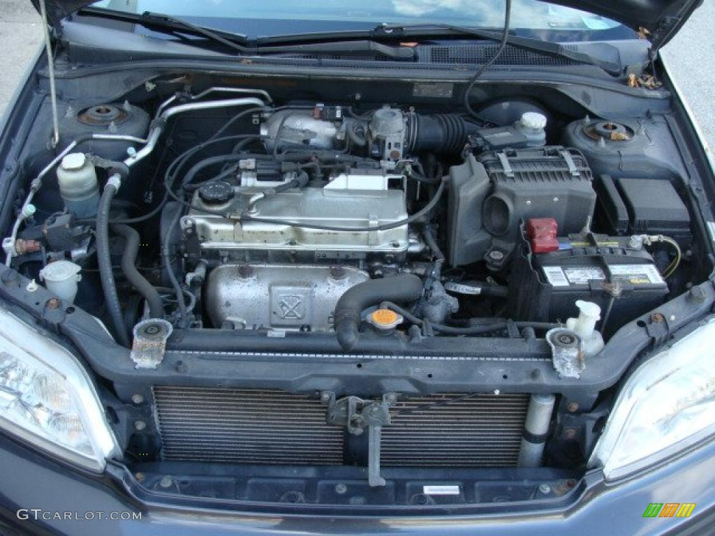 2003 Mitsubishi Lancer OZ Rally 2.0 Liter SOHC 16-Valve 4 Cylinder Engine Photo #40233414 ...