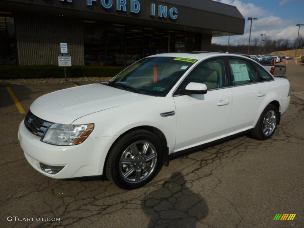oxford white 2008 ford taurus sel awd exterior photo. Black Bedroom Furniture Sets. Home Design Ideas