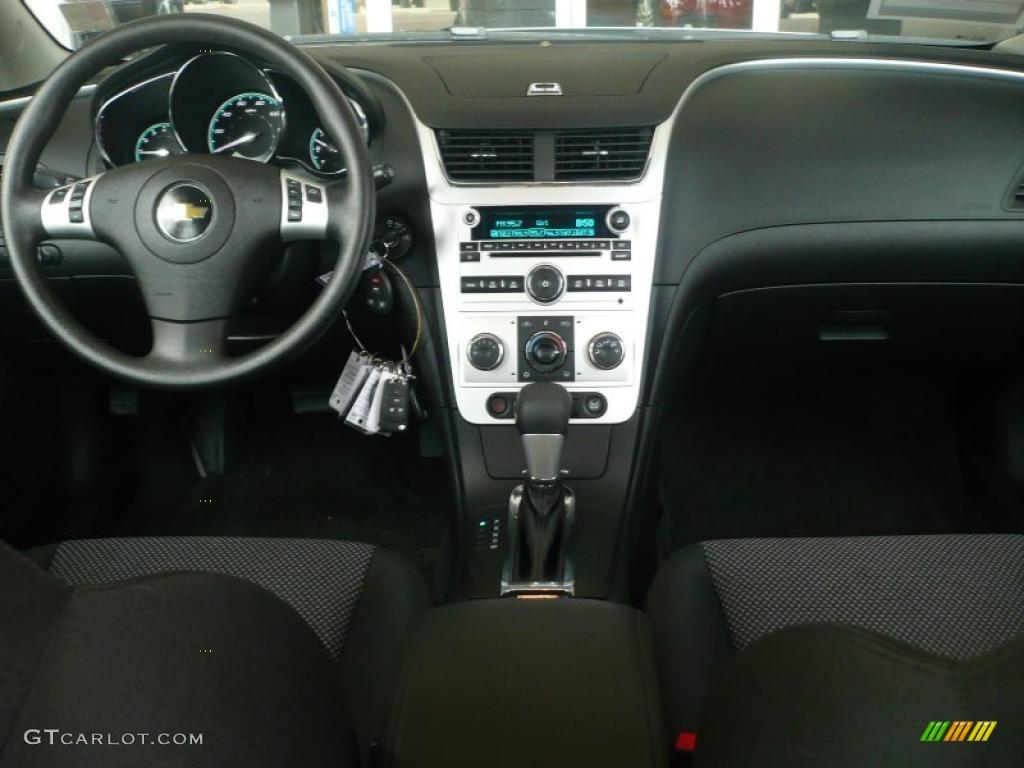Ebony Interior 2011 Chevrolet Malibu Lt Photo 40238470