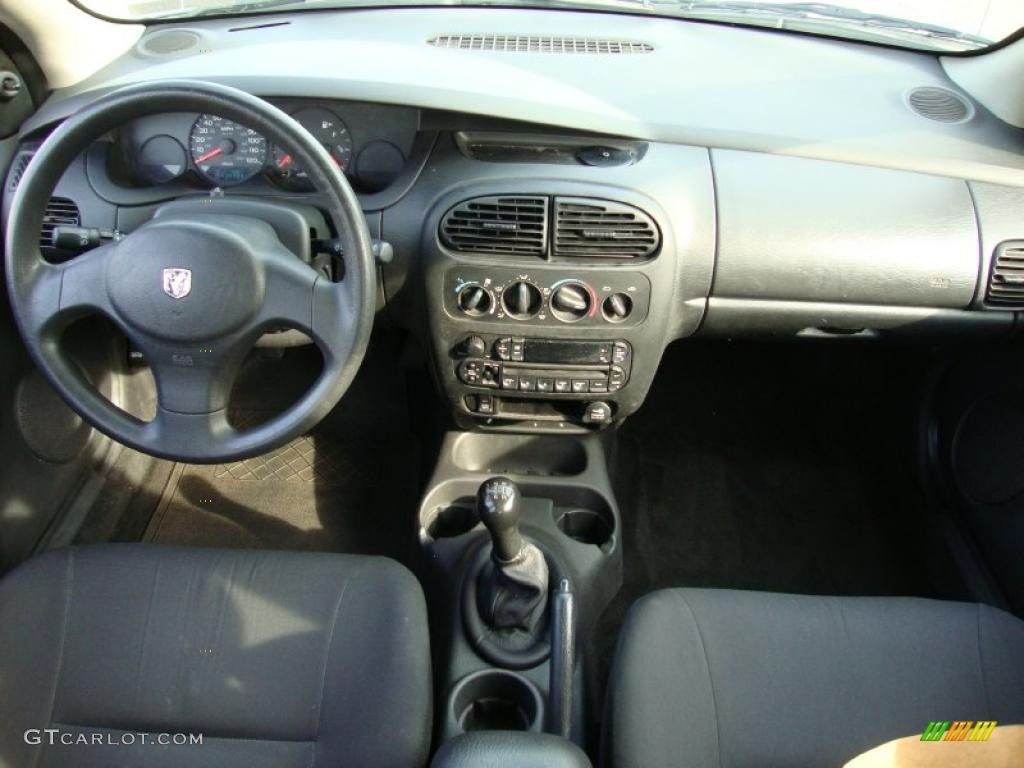 Dark Slate Gray Interior 2003 Dodge Neon Se Photo