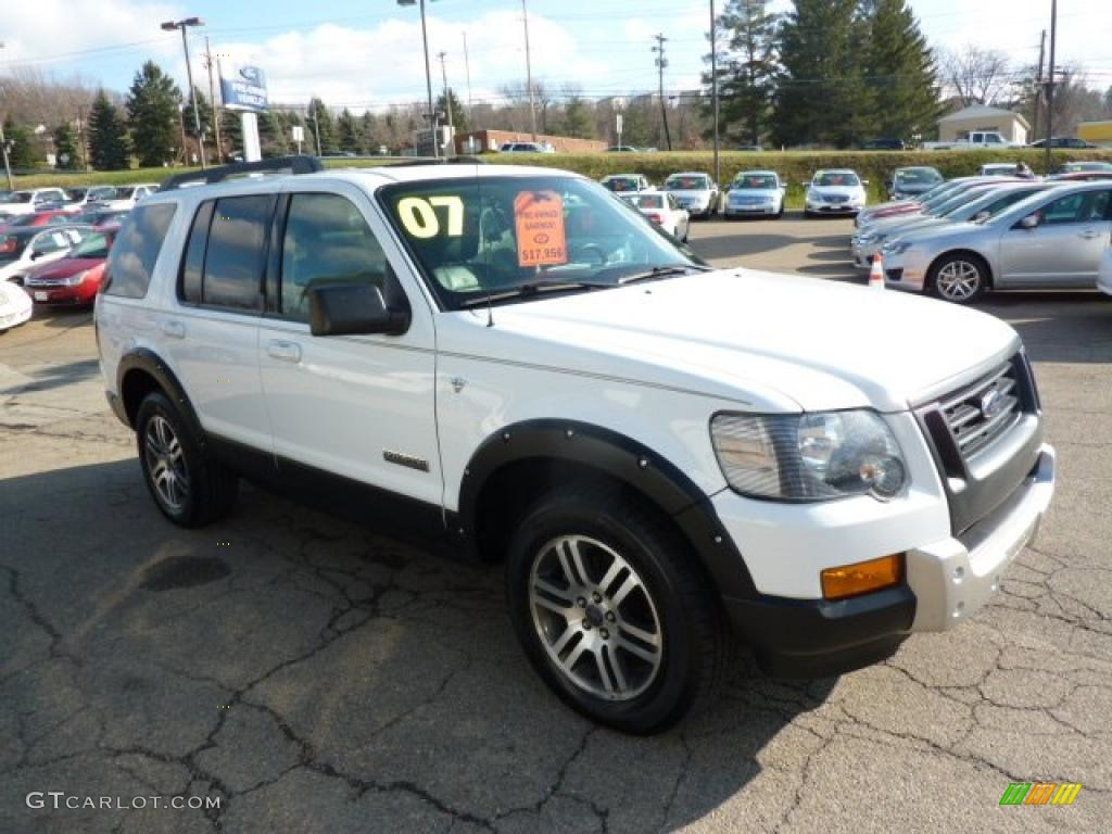 Oxford White 2007 Ford Explorer XLT Ironman Edition 4x4 ...