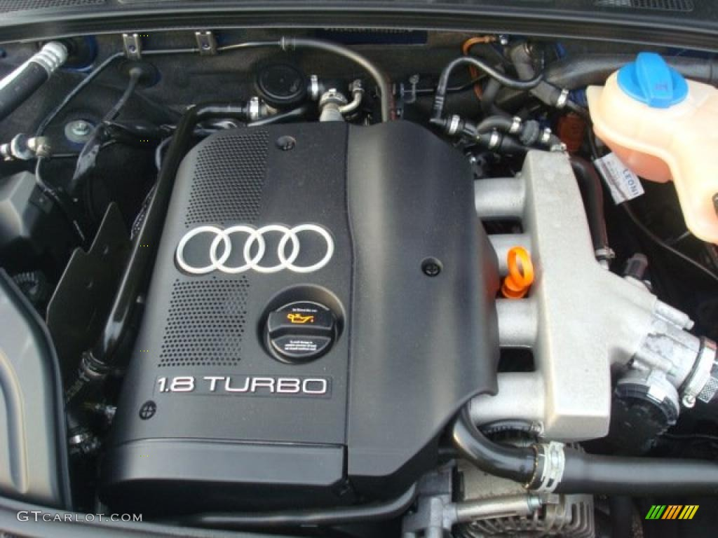2004 Audi A4 1.8T Cabriolet 1.8L Turbocharged DOHC 20V 4 ...