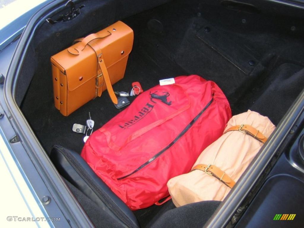 2003 Ferrari 360 Spider F1 Trunk Photo 40264782